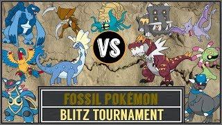 Fossil Pokémon Tournament (Pokémon Ultra Sun/Moon) - Blitz Tournament #14