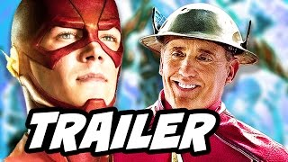 The Flash Season 3 Episode 1 Flashpoint Trailer and Jesse Quick Breakdown