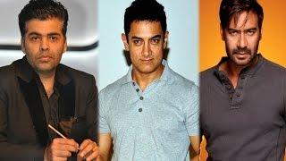 Aamir Khan Takes Advantage For Karan Johar & Ajay Devgan War | Bollywood Gossip