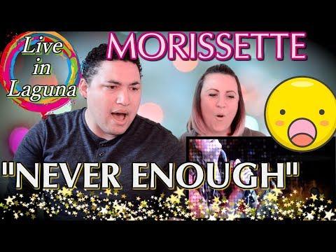 Morissette Live at Laguna|NEVER ENOUGH||| Couples Reaction