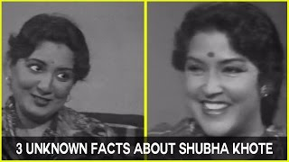 Tabassum Reveals 3 Unknown Facts about Shubha Khote