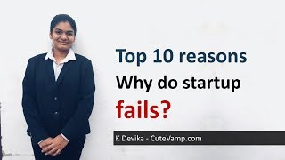 Top 10 reasons: Why do startup fails?