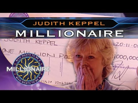 Historic Win By Judith Keppel Who Wants To Be A Millionare