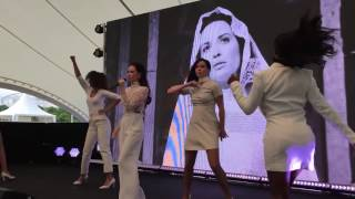 Grace Capristo Live One Woman Army @ 10 Jahre Mercedes-Benz Museum 04.06.2016