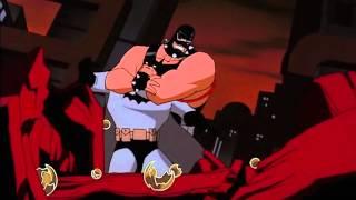 Bane Vs. Batman fight to the death