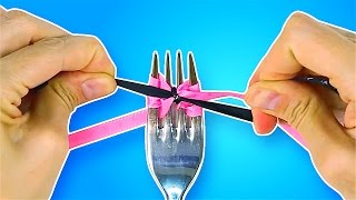 10 LIFE-CHANGING HACKS WITH FORKS AND SPOONS
