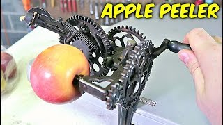 Weirdest Apple Peeler Ever Made