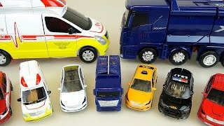 CarBot mini car and transformers Truck and Ambulance TOBOT toys