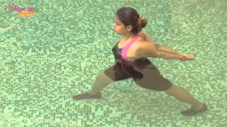 Aqua Bangalore - Aqua Stretch Exercises/ Water Stretching Exercises