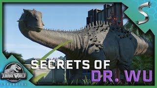 ANKYLODOCUS HYBRID MISSION! SECRETS OF DR WU DLC GAMEPLAY - Jurassic World Evolution [Gameplay E17]