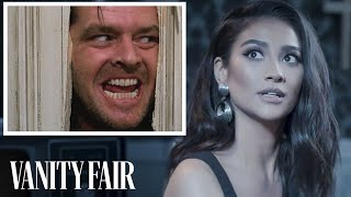 Shay Mitchell Reviews Demonic Possession Scenes in Movies | Vanity Fair