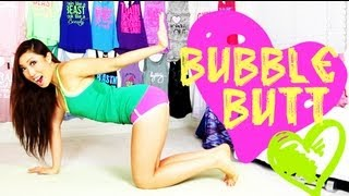 Bubble Butt (Clenching my Booty) Workout | POP Pilates for Beginners
