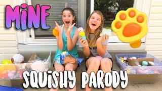 "SQUISHY ""MINE"" PARODY MUSIC VIDEO (original song by Bazzi)"