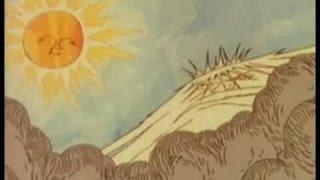 El viento del norte y el sol. Cuentos infantiles.