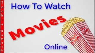 Top 8 Best Websites To Watch Latest Movies Online Free Without Signing up 2018