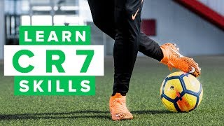 Learn More CR7 football skills | How to dribble like CR7 PT 2