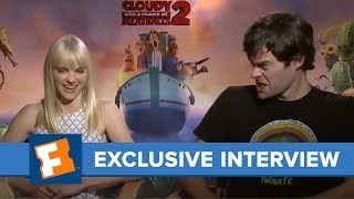 Cloudy with a Chance of Meatballs 2 Interview | Celebrity Interview | FandangoMovies