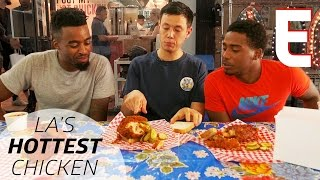 Sampling Los Angeles' Spiciest Fried Chicken at Howlin' Ray's—Dining on a Dime