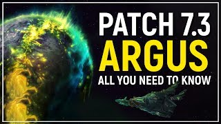 Legion Patch 7.3 Primer: All We Know About Argus, WoW's New Planet!