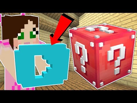 Minecraft YOUTUBE LUCKY BLOCK YOUTUBERS PLAY BUTTON & MORE Mod Showcase
