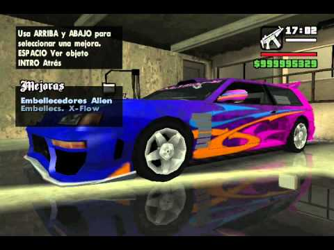 Como Modificar Autos En Gta San Andreas Sin Mod