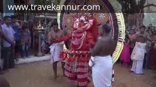 Panchuruli Theyyam (Travel Kannur Kerala Videos)