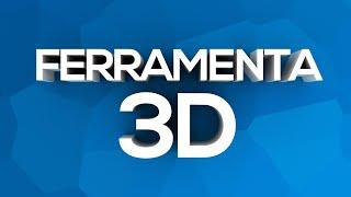 Como criar/fazer um texto 3D no Photoshop CC 2015 Extended!