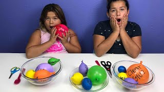Making Slime With Balloons! Slime Balloon Tutorial