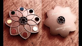 How to make jack nobile steel luxury FINGER SPINNER 190 GR! by Oscar The Dreamer