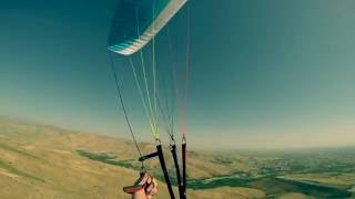 Short Paragliding flight in Urmia, Iran