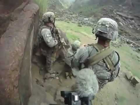 COMBAT FOOTAGE Soldiers Ambushed In Kunar Provence