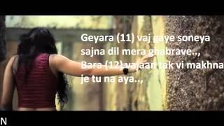BOHEMIA - Lyrics of 'Adhi Rati' by 'Jasmine Sandlas' ft. 'Bohemia'