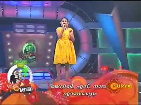 voice of kerala - Aswathy.S.Nair