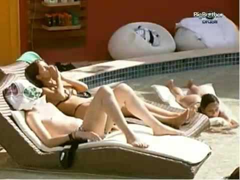 Big Brother Brasil 10 Gostosas na Piscina