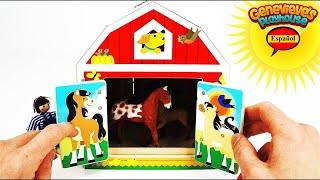Video Educativo para Niños y Bebés! Aprende los Animales, Comidas, y Colores