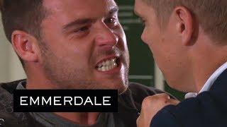 Emmerdale - Aaron Threatens to 'End' Robert