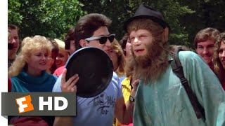 Teen Wolf Too (1987) - Todd Fetches a Frisbee Scene (7/12) | Movieclips
