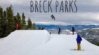 BRECKENRIDGE PARKS OPENING DAY 2018 SNOWBOARDING!!