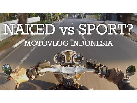 Naked vs Sport - BMW R Nine T Indonesia #motovlog28
