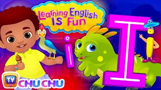 "Learning English Is Fun™ | Alphabet ""I"" 