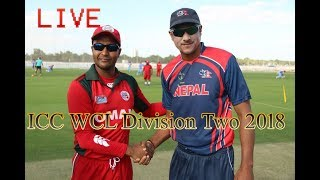 Nepal Vs  Oman 5th Match Live Cricket Score, ICC WCL Division Two 2018