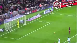 Golazo de penalti Mesi asiste a Suarez