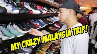 SNEAKER SHOPPING IN MALAYSIA + MORE!