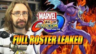 FULL ROSTER LEAK - Marvel Vs. Capcom Infinite (Thoughts/Impressions)