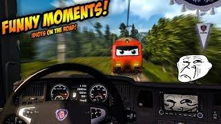 Euro Truck Simulator 2 Multiplayer | Funny Moments & Crash Compilation | #44