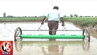 Khammam Farmer Invents Drum Seeder For Paddy Cultivation | V6 News