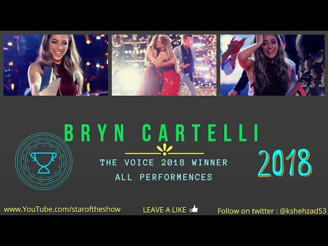 BRYNN CARTELLI || THE VOICE 2018 WINNER || ALL PERFORMANCES