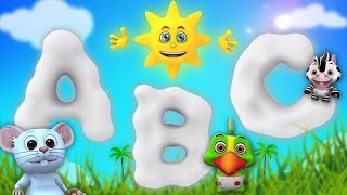 ABC Learning Songs For Toddlers | Kindergarten Nursery Rhymes | Cartoons by Little Treehouse