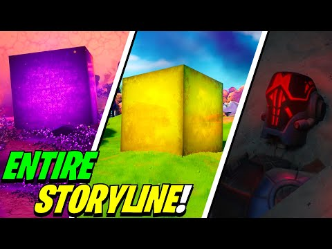 Fortnite SEASON 8 STORYLINE Explained The Cubed Slone