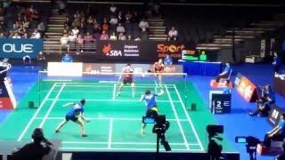 OUE Singapore Open 2016 R16: Ahmad/Natsir vs Lee Yong Dae/Lee So Hee